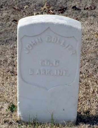 COLLIER (VETERAN UNION), JOHN - Pulaski County, Arkansas | JOHN COLLIER (VETERAN UNION) - Arkansas Gravestone Photos