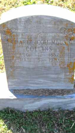COLLINS, CHARLIE COLUMBUS - Pulaski County, Arkansas | CHARLIE COLUMBUS COLLINS - Arkansas Gravestone Photos