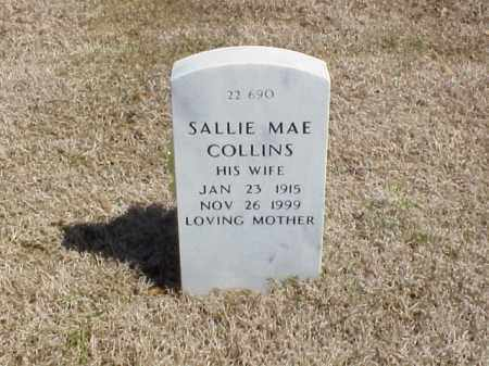 COLLINS, SALLIE MAE - Pulaski County, Arkansas | SALLIE MAE COLLINS - Arkansas Gravestone Photos