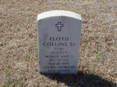 COLLINS, SR (VETERAN WWII), FLOYD - Pulaski County, Arkansas | FLOYD COLLINS, SR (VETERAN WWII) - Arkansas Gravestone Photos