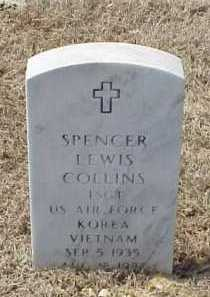 COLLINS (VETERAN 2 WARS), SPENCER LEWIS - Pulaski County, Arkansas | SPENCER LEWIS COLLINS (VETERAN 2 WARS) - Arkansas Gravestone Photos