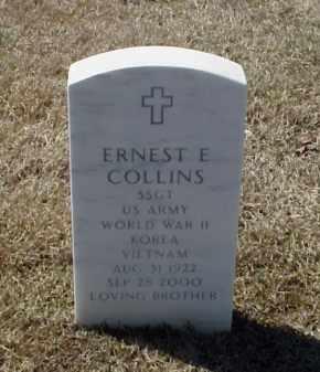 COLLINS (VETERAN 3 WARS), ERNEST E - Pulaski County, Arkansas | ERNEST E COLLINS (VETERAN 3 WARS) - Arkansas Gravestone Photos