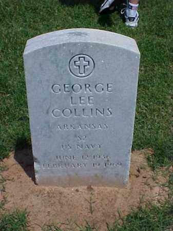 COLLINS (VETERAN), GEORGE LEE - Pulaski County, Arkansas | GEORGE LEE COLLINS (VETERAN) - Arkansas Gravestone Photos