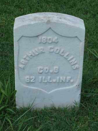 COLLINS (VETERAN UNION), ARTHUR - Pulaski County, Arkansas | ARTHUR COLLINS (VETERAN UNION) - Arkansas Gravestone Photos