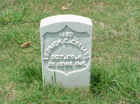 COLLINS (VETERAN UNION), LODRICK C - Pulaski County, Arkansas | LODRICK C COLLINS (VETERAN UNION) - Arkansas Gravestone Photos