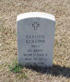COLLINS (VETERAN WWII), CLEOTIS - Pulaski County, Arkansas | CLEOTIS COLLINS (VETERAN WWII) - Arkansas Gravestone Photos