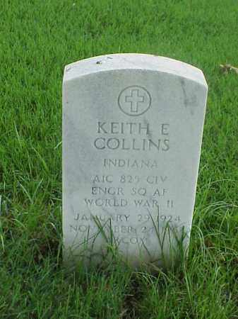 COLLINS (VETERAN WWII), KEITH E - Pulaski County, Arkansas | KEITH E COLLINS (VETERAN WWII) - Arkansas Gravestone Photos