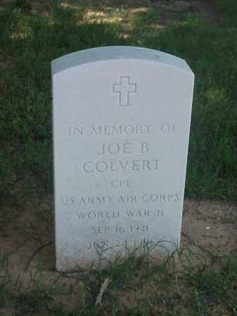 COLVERT (VETERAN WWII), JOE B - Pulaski County, Arkansas | JOE B COLVERT (VETERAN WWII) - Arkansas Gravestone Photos