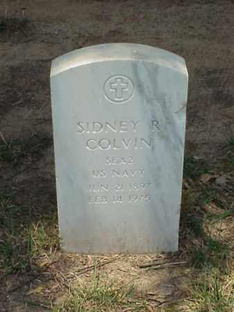 COLVIN (VETERAN WWI), SIDNEY R - Pulaski County, Arkansas | SIDNEY R COLVIN (VETERAN WWI) - Arkansas Gravestone Photos