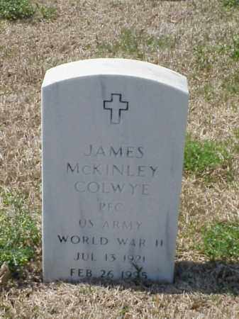 COLWYE (VETERAN WWII), JAMES MCKINLEY - Pulaski County, Arkansas | JAMES MCKINLEY COLWYE (VETERAN WWII) - Arkansas Gravestone Photos