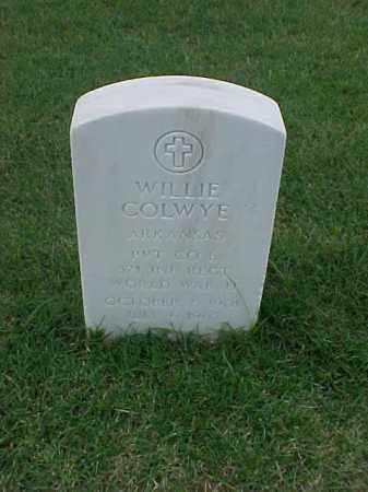COLWYE (VETERAN WWII), WILLIE - Pulaski County, Arkansas | WILLIE COLWYE (VETERAN WWII) - Arkansas Gravestone Photos