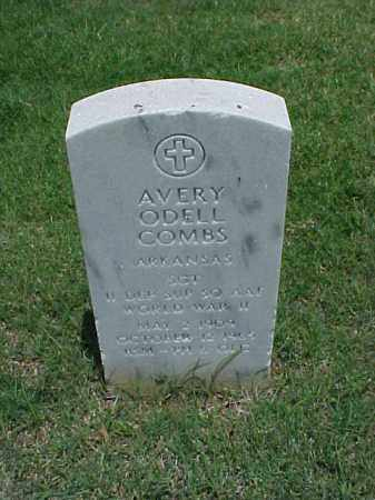 COMBS (VETERAN WWII), AVERY ODELL - Pulaski County, Arkansas | AVERY ODELL COMBS (VETERAN WWII) - Arkansas Gravestone Photos