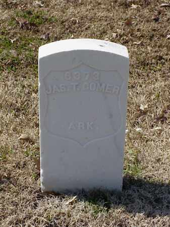 COMER (VETERAN SAW), JAMES T - Pulaski County, Arkansas | JAMES T COMER (VETERAN SAW) - Arkansas Gravestone Photos