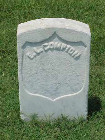 COMPTON (VETERAN UNION), E L - Pulaski County, Arkansas | E L COMPTON (VETERAN UNION) - Arkansas Gravestone Photos