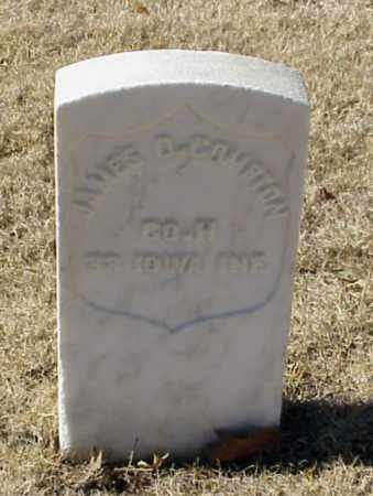 COMPTON (VETERAN UNION), JAMES D - Pulaski County, Arkansas | JAMES D COMPTON (VETERAN UNION) - Arkansas Gravestone Photos