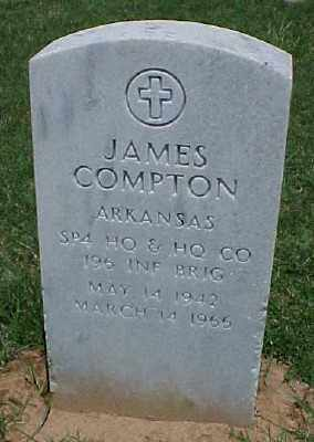 COMPTON (VETERAN VIET), JAMES - Pulaski County, Arkansas | JAMES COMPTON (VETERAN VIET) - Arkansas Gravestone Photos