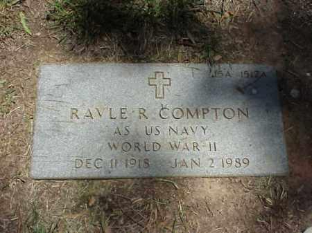 COMPTON (VETERAN WWII), RAVLE R - Pulaski County, Arkansas | RAVLE R COMPTON (VETERAN WWII) - Arkansas Gravestone Photos