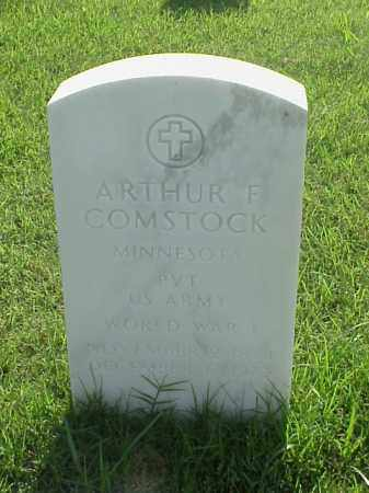 COMSTOCK (VETERAN WWI), ARTHUR F - Pulaski County, Arkansas | ARTHUR F COMSTOCK (VETERAN WWI) - Arkansas Gravestone Photos