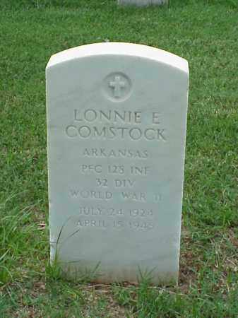 COMSTOCK (VETERAN WWII), LONNIE E - Pulaski County, Arkansas | LONNIE E COMSTOCK (VETERAN WWII) - Arkansas Gravestone Photos