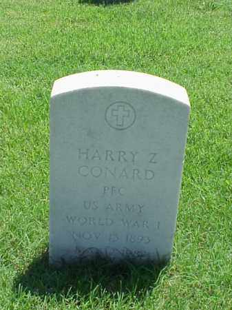 CONARD (VETERAN WWI), HARRY Z - Pulaski County, Arkansas | HARRY Z CONARD (VETERAN WWI) - Arkansas Gravestone Photos