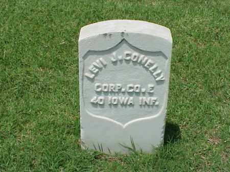CONELLY (VETERAN UNION), LEVI J - Pulaski County, Arkansas | LEVI J CONELLY (VETERAN UNION) - Arkansas Gravestone Photos