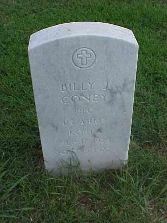 CONEY (VETERAN KOR), BILLY J - Pulaski County, Arkansas | BILLY J CONEY (VETERAN KOR) - Arkansas Gravestone Photos
