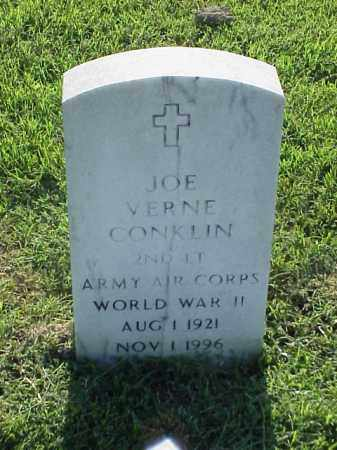 CONKLIN (VETERAN WWII), JOE VERNE - Pulaski County, Arkansas | JOE VERNE CONKLIN (VETERAN WWII) - Arkansas Gravestone Photos