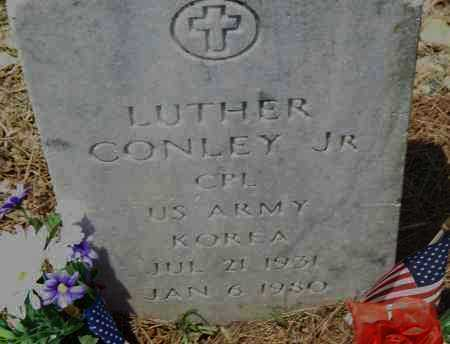CONLEY JR. (VETERAN KOR), LUTHER - Pulaski County, Arkansas | LUTHER CONLEY JR. (VETERAN KOR) - Arkansas Gravestone Photos