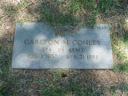 CONLEY (VETERAN VIET), CARLTON M - Pulaski County, Arkansas | CARLTON M CONLEY (VETERAN VIET) - Arkansas Gravestone Photos