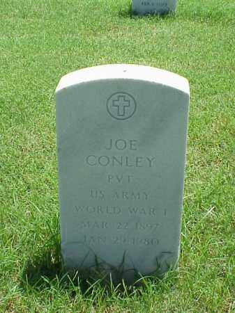 CONLEY (VETERAN WWI), JOE - Pulaski County, Arkansas | JOE CONLEY (VETERAN WWI) - Arkansas Gravestone Photos