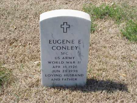 CONLEY (VETERAN WWII), EUGENE E - Pulaski County, Arkansas | EUGENE E CONLEY (VETERAN WWII) - Arkansas Gravestone Photos