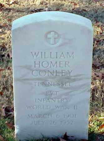 CONLEY (VETERAN WWII), WILLIAM HOMER - Pulaski County, Arkansas | WILLIAM HOMER CONLEY (VETERAN WWII) - Arkansas Gravestone Photos