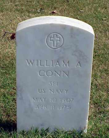 CONN (VETERAN), WILLIAM A - Pulaski County, Arkansas | WILLIAM A CONN (VETERAN) - Arkansas Gravestone Photos