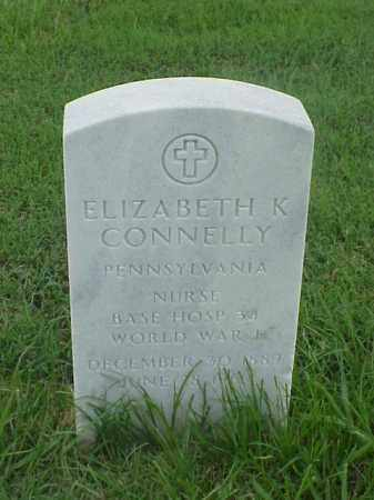 CONNELLY (VETERAN WWI), ELIZABETH K - Pulaski County, Arkansas | ELIZABETH K CONNELLY (VETERAN WWI) - Arkansas Gravestone Photos