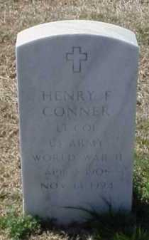 CONNER (VETERAN WWII), HENRY F - Pulaski County, Arkansas | HENRY F CONNER (VETERAN WWII) - Arkansas Gravestone Photos