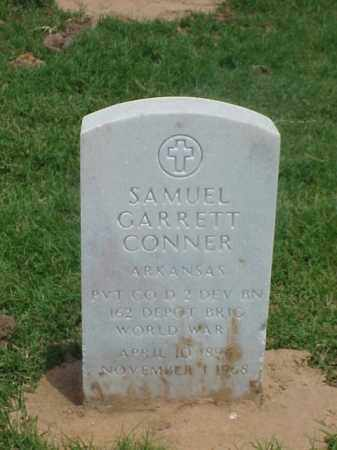 CONNER (VETERAN WWI), SAMUEL GARRETT - Pulaski County, Arkansas | SAMUEL GARRETT CONNER (VETERAN WWI) - Arkansas Gravestone Photos