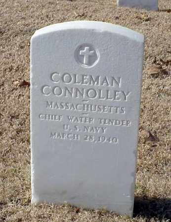 CONNOLLEY (VETERAN WWI), COLEMAN - Pulaski County, Arkansas | COLEMAN CONNOLLEY (VETERAN WWI) - Arkansas Gravestone Photos