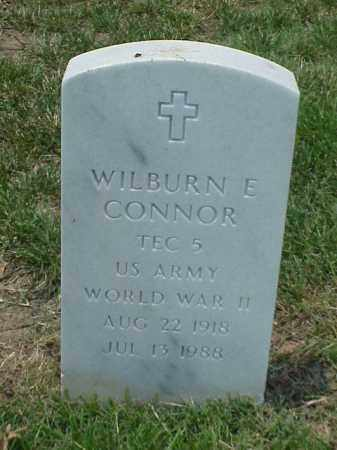 CONNOR (VETERAN WWII), WILBURN E - Pulaski County, Arkansas | WILBURN E CONNOR (VETERAN WWII) - Arkansas Gravestone Photos