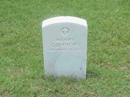 CONNORS, HENRY - Pulaski County, Arkansas | HENRY CONNORS - Arkansas Gravestone Photos