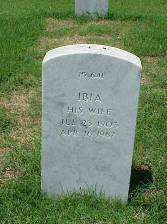 CONWAY, IBIA - Pulaski County, Arkansas | IBIA CONWAY - Arkansas Gravestone Photos