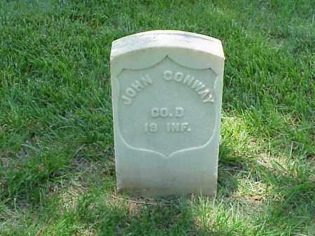 CONWAY (VETERAN UNION), JOHN - Pulaski County, Arkansas | JOHN CONWAY (VETERAN UNION) - Arkansas Gravestone Photos
