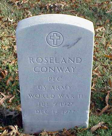CONWAY (VETERAN WWII), ROSELAND - Pulaski County, Arkansas | ROSELAND CONWAY (VETERAN WWII) - Arkansas Gravestone Photos