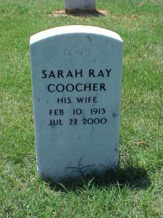 COOCHER, SARAH - Pulaski County, Arkansas | SARAH COOCHER - Arkansas Gravestone Photos