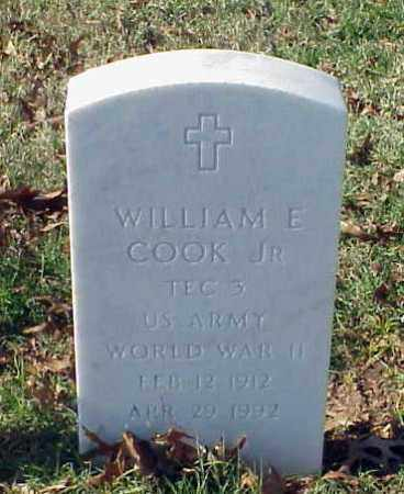 COOK, JR (VETERAN WWII), WILLIAM E - Pulaski County, Arkansas | WILLIAM E COOK, JR (VETERAN WWII) - Arkansas Gravestone Photos