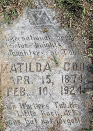 COOK, MATILDA - Pulaski County, Arkansas | MATILDA COOK - Arkansas Gravestone Photos