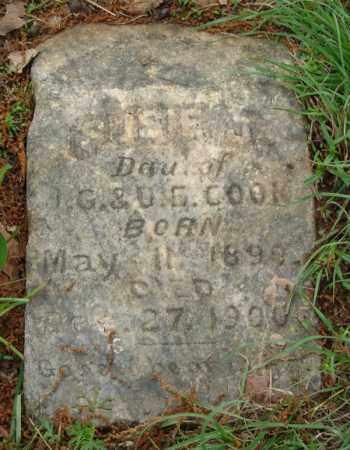 COOK, SUSIE J. - Pulaski County, Arkansas | SUSIE J. COOK - Arkansas Gravestone Photos