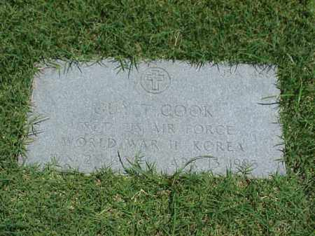 COOK (VETERAN 2 WARS), GUY T - Pulaski County, Arkansas | GUY T COOK (VETERAN 2 WARS) - Arkansas Gravestone Photos