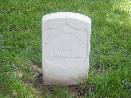 COOK (VETERAN UNION), CHRISTIAN - Pulaski County, Arkansas | CHRISTIAN COOK (VETERAN UNION) - Arkansas Gravestone Photos