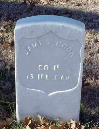 COOK (VETERAN UNION), JAMES - Pulaski County, Arkansas | JAMES COOK (VETERAN UNION) - Arkansas Gravestone Photos