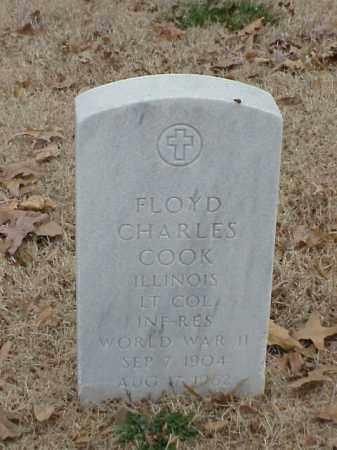 COOK (VETERAN WWII), FLOYD CHARLES - Pulaski County, Arkansas | FLOYD CHARLES COOK (VETERAN WWII) - Arkansas Gravestone Photos